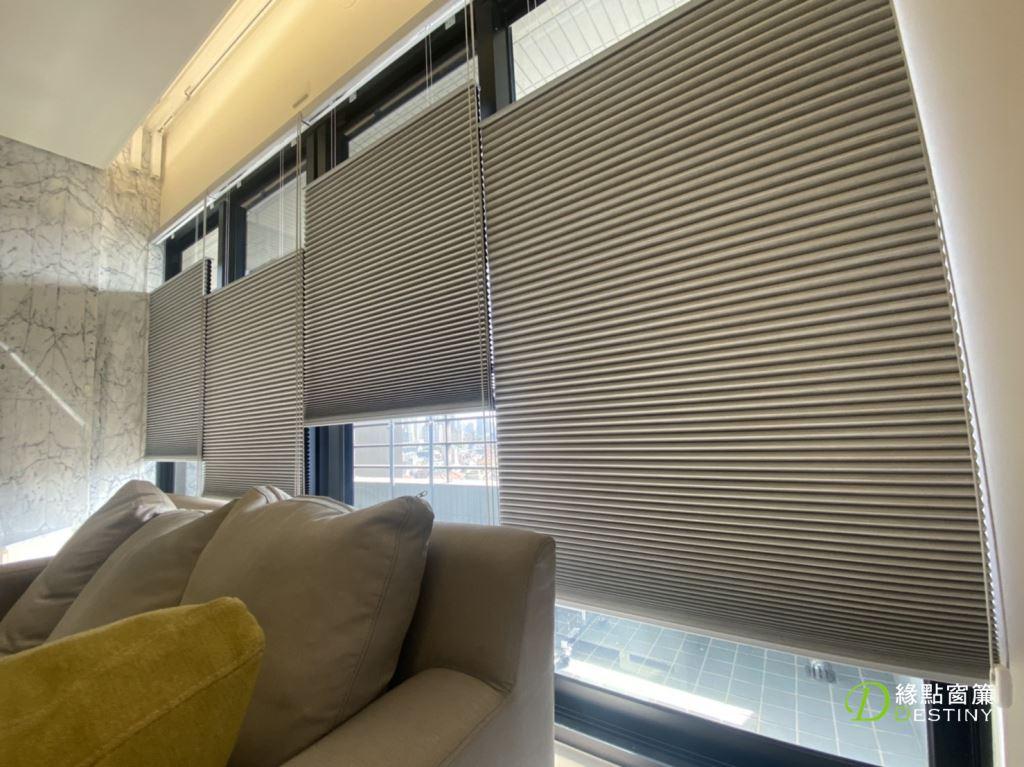 台中窗簾-風琴簾